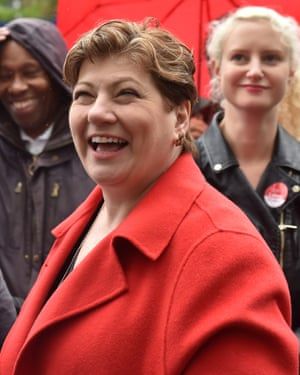 """Emily Thornberry said Trump's comments were """"rudeness upon rudeness upon rudeness""""."""
