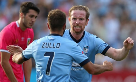 Contentious Sydney FC goal settles thriller against Central Coast Mariners