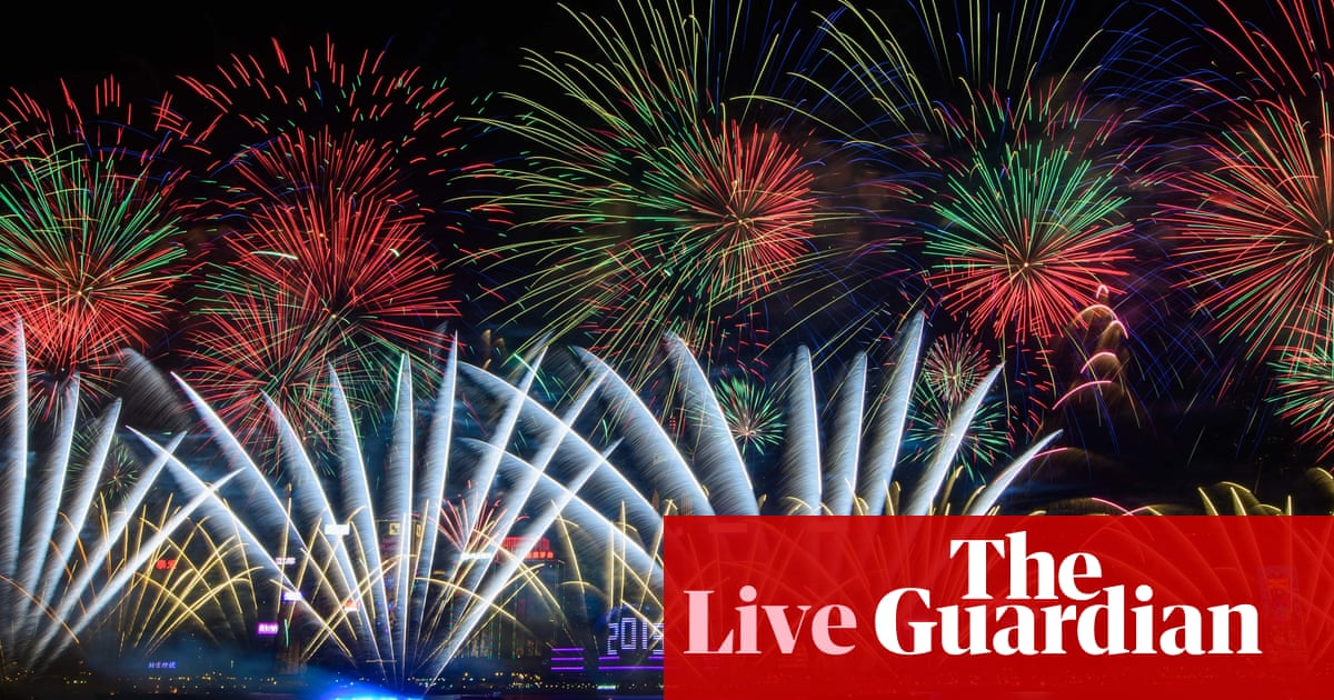 3b0a75805187 New Year s Eve 2018  celebrations around the world as they happened ...