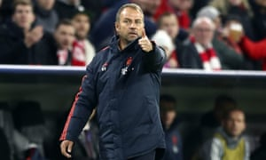 Hans-Dieter Flick is in charge of Bayern Munich until the end of the season.