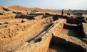 Excavations in archaeological site of ancient Merv