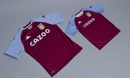 Aston Villa's new 2020-21 strip released by Kappa