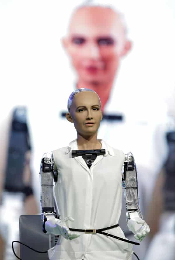 Hanson Robotics' Sophia.