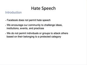 Hate Speech 2