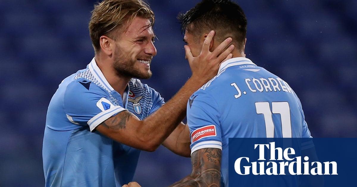 Ciro Immobile strikes again for Lazio, champions Juventus sunk by Cagliari
