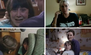 'I definitely didn't set out to cause mass hysteria' ... Ghostwatch, with Sarah Greene top right.