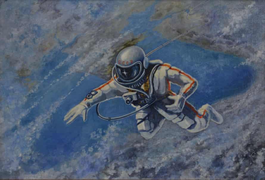 Alexei Leonov's Over the Black Sea, 1973.