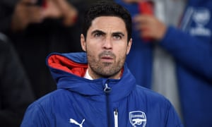 Mikel Arteta (pictured during his Arsenal playing career) is expected to become the next permanent Arsenal manager.
