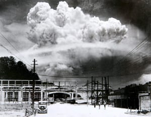 The atomic bombing of Nagasaki, on 09 August 1945.