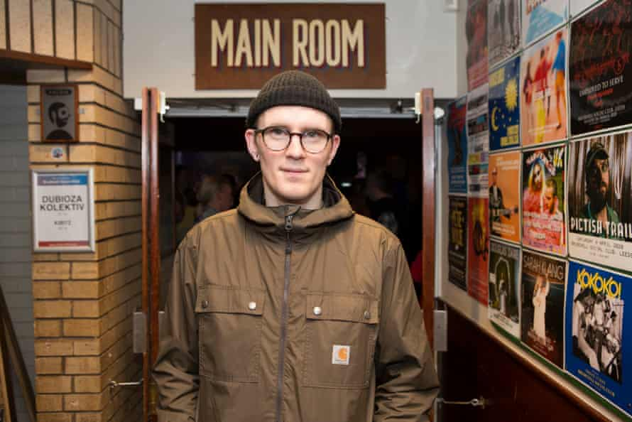 Chris Tyrer, doorman at the Brudenell Social Club.
