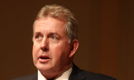 Darroch was forced to resign as ambassador in July last year after his reports on the dysfunction in the Trump administration were leaked.