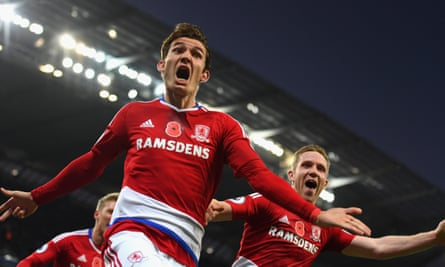 Marten de Roon's late equaliser earned Middlesbrough a 1-1 draw at City.