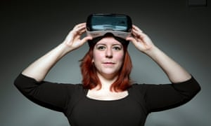 Virtual Reality people don't care about Actual Reality people, because they can't see us.