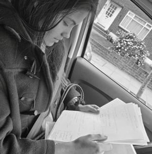 Raducanu studies for her A-levels in April 2021