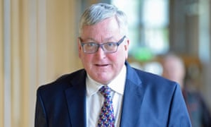 The Scottish rural economy and connectivity secretary, Fergus Ewing.