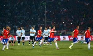 Chile celebrate …