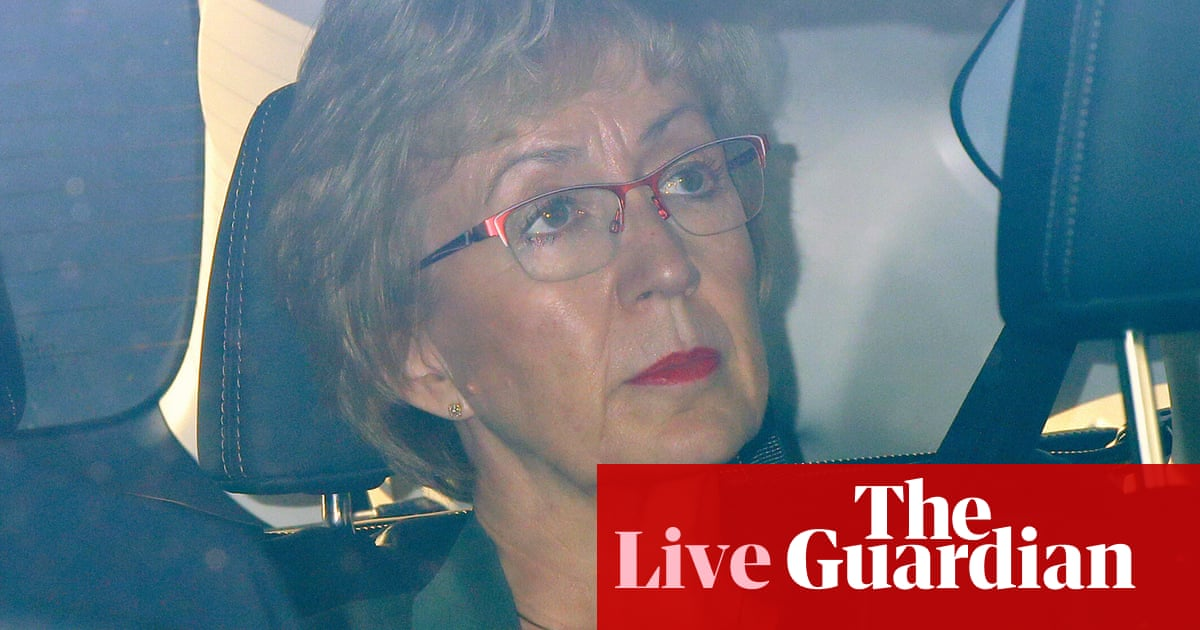 'I do not agree with you': May responds to Leadsom's resignation – politics live