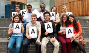 Top students at Highbury Grove School where Tom Sherrington is headteacher.