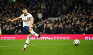 Eric Dier scored his penalty during the shootout which Tottenham lost.
