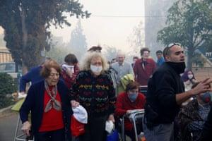 Emergency workers and elderly people