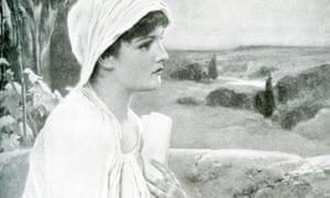Hypatia, a Greek scholar from Alexandria in Egypt.