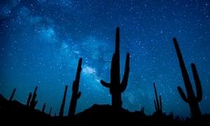Arizona skies: astronomy contributes $250 million annually to the state's economy.