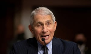 Fauci testifying before Congress in September.