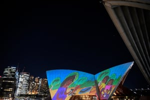 Badu Gili: Wonder Women Showcases First Nations Artworks On Sydney Opera House Sails