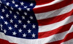 A US flag.