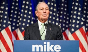 Michael Bloomberg joined the Democratic race, spending in one week a record-breaking $31m on ads.