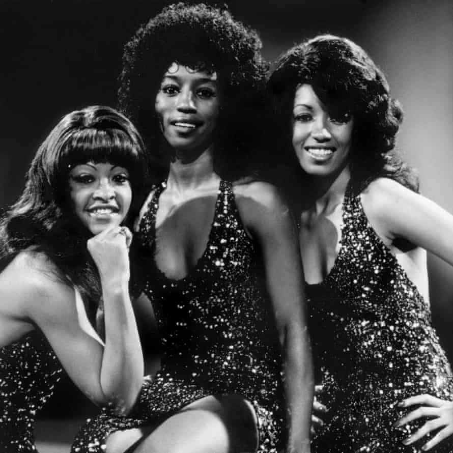A portrait of the Three Degrees