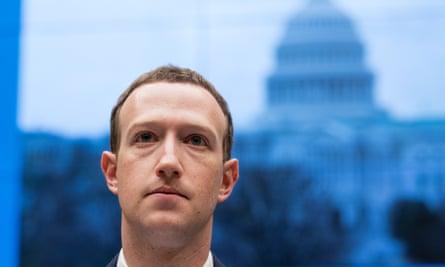 Mark Zuckerberg before Congress last week.