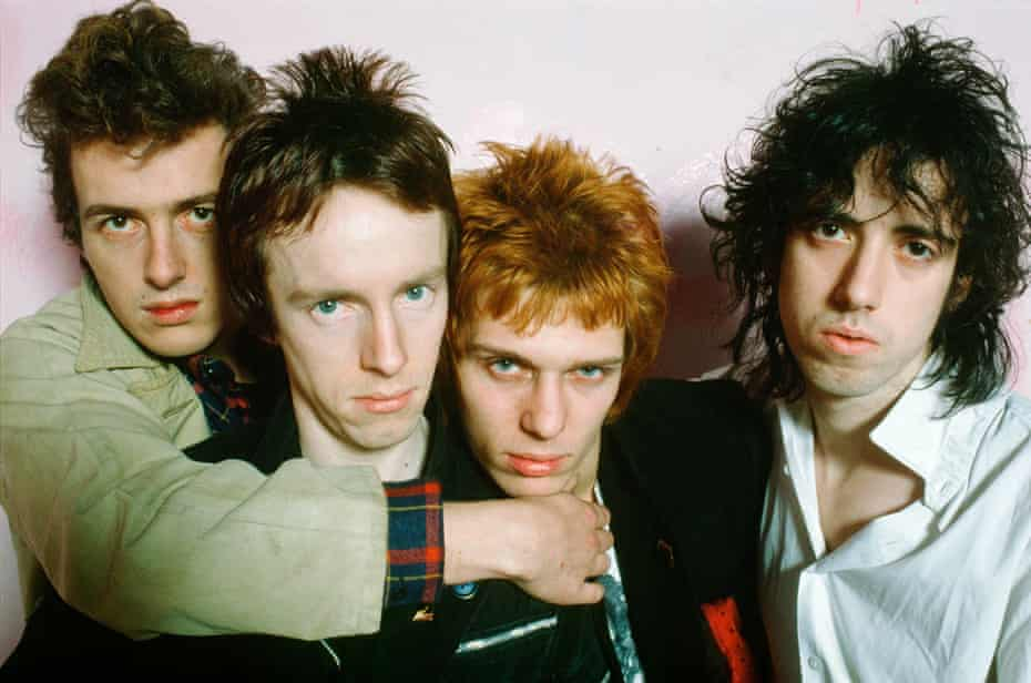 In 1978 ... (from left) Joe Strummer, Topper Headon, Paul Simonon and Mick Jones.
