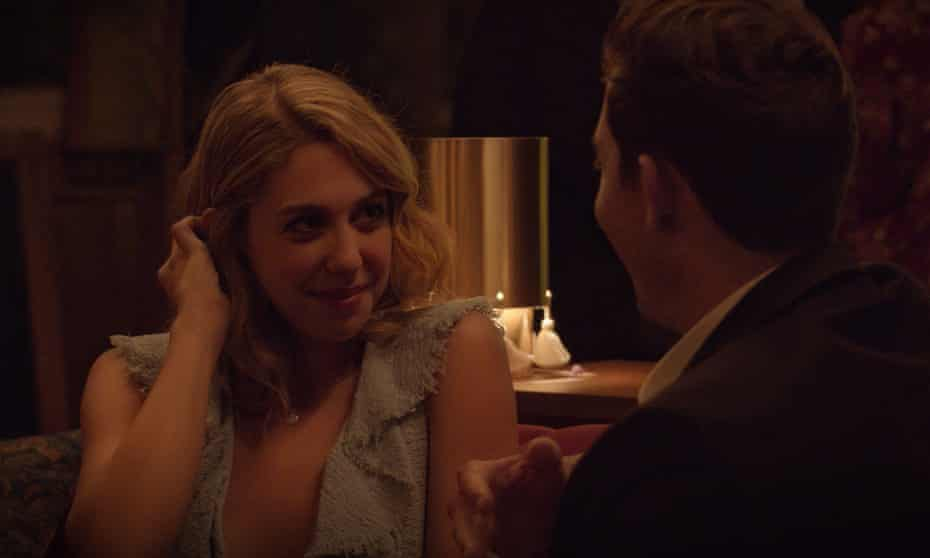 A still from the first episode of Dating Around