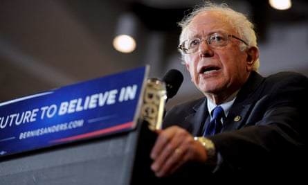'Do I think the victims of a crime with a gun should be able to sue the manufacturer, is that your question? No, I don't,' Sanders said.