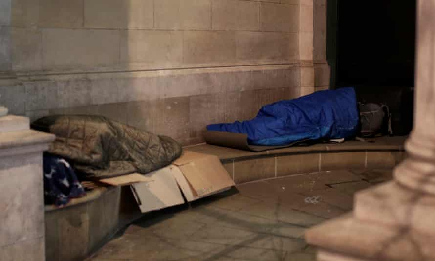 There were dozens of local authority/Home Office operations involving rough sleepers across London last year.