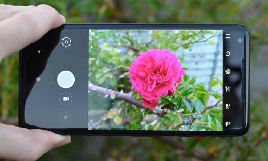 the 12.2-megapixel rear camera on the Pixel 2 XL.