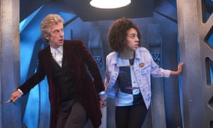 Peter Capaldi and Pearl Mackie, a dream team in Doctor Who.