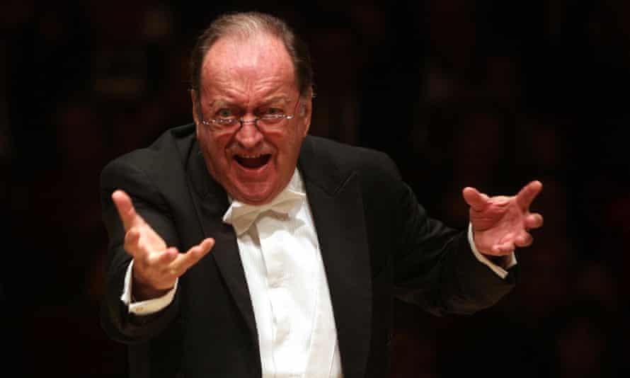 Nikolaus Harnoncourt leading the Vienna Philharmonic in 2010