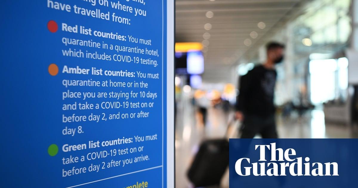 Double-jabbed UK tourists could skip amber-list quarantine under proposals