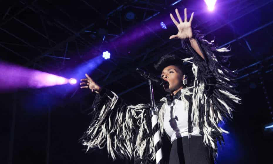 Janelle Monae performs during the 12th annual Afropunk festival in Brooklyn, 2016.