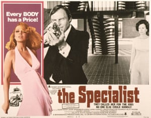 A poster for the 1975 film The Specialist starring Adam west
