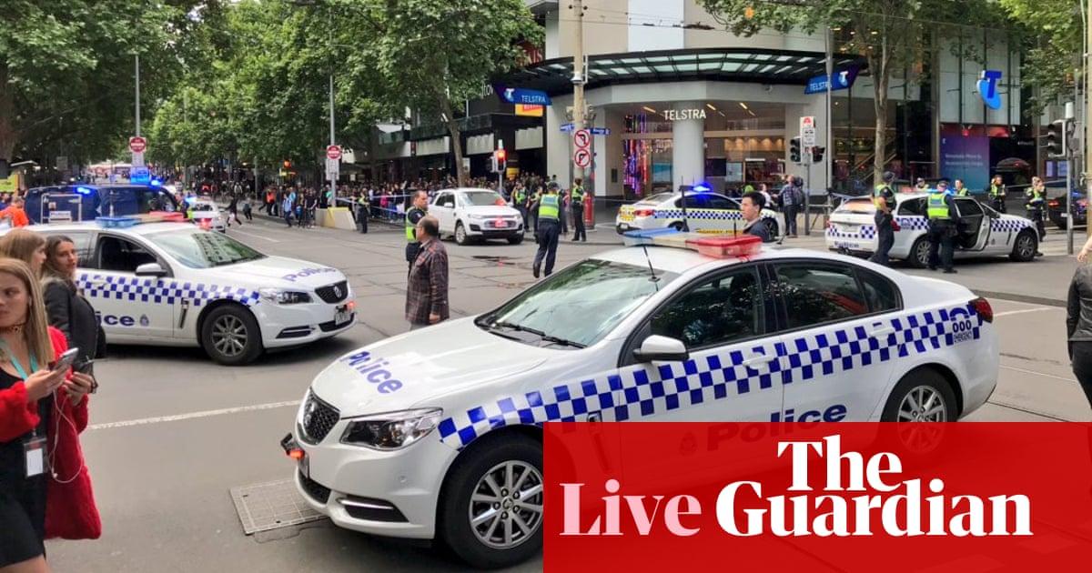 Melbourne: major incident in Bourke Street after car in flames - live updates