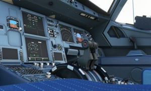 What does the button do?  ... flight simulator