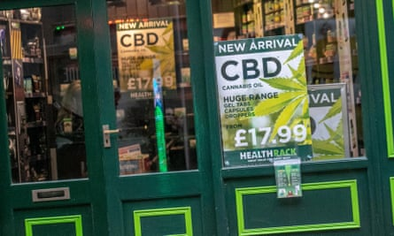 Shop selling CBD products