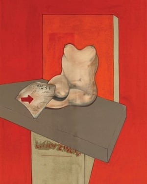 Study of a Human Body after Ingres, by Francis Bacon, features in a new exhibition about the Colony Room.