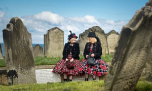 Goths and graveyards