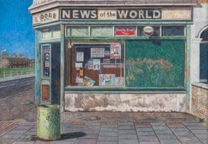 Corner Shop, Canning Town, 1994