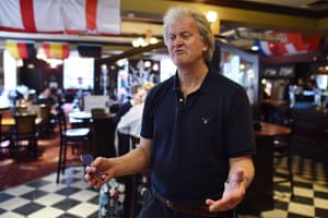 Chairman of Wetherspoons pub chain, Tim Martin