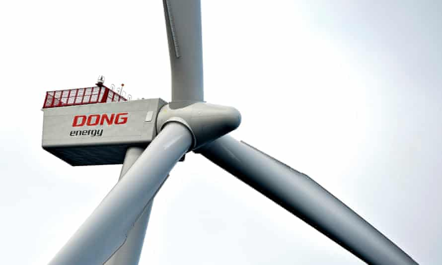 A Dong Energy wind turbine
